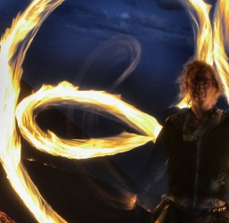 Fire Poi Retreat with Vojta:  July 17-23 2016 (Italy)